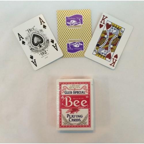 Карты игральные 5192 (12) Bee покер красный