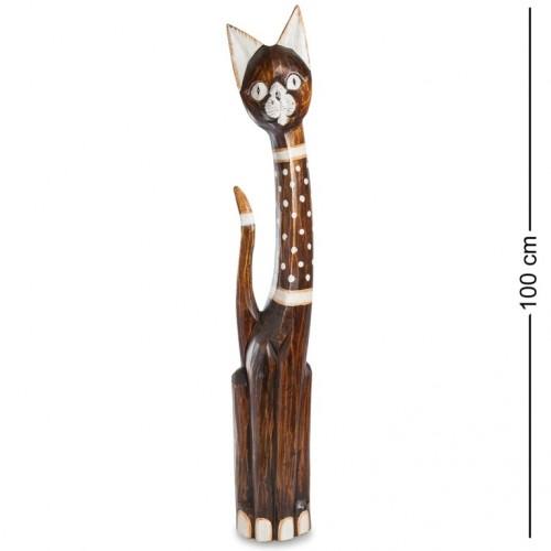 99-144 Фигурка Кошка 100см (албезия, о.Бали)