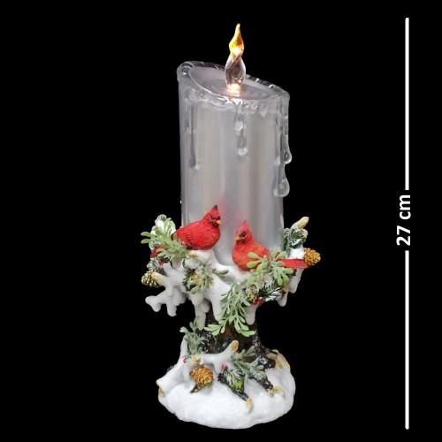 AK8042  (1-8) Свеча новогодняя со светом 29см