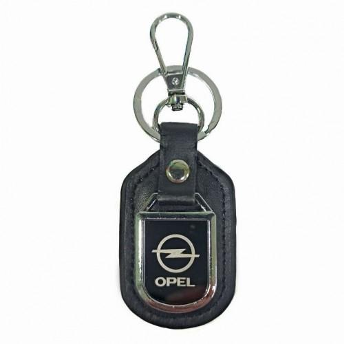Брелок  01-08 Opel  , металл, кожаные, 4*11см.