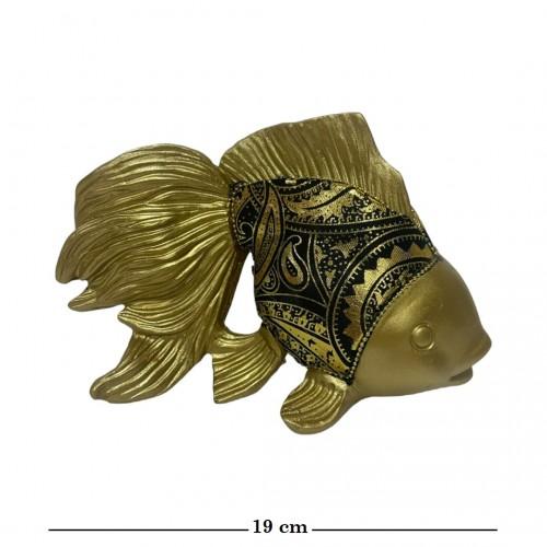 HOL20509  (1-18) Золотая рыбка 19*10*12см