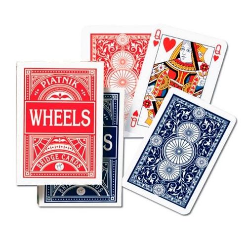 Карты игральные 1391 (12) Круги Покер 55л.