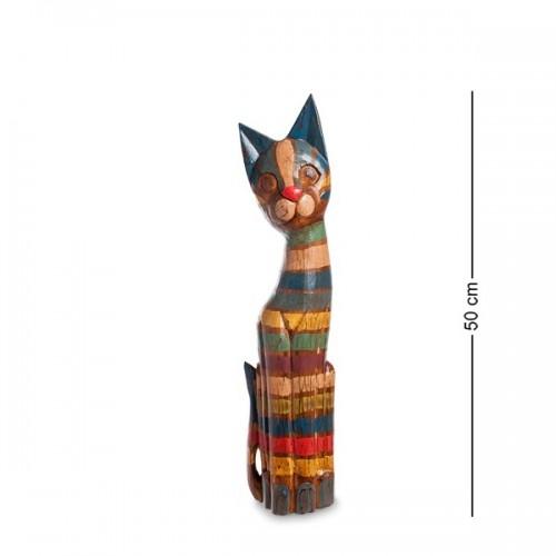 99-035 Фигурка Кошка 50см (албезия, о.Бали)
