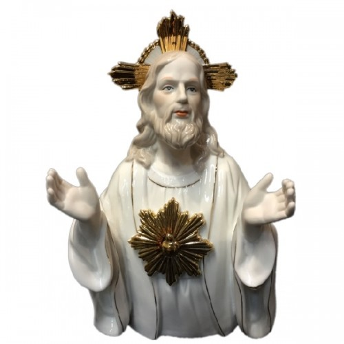 HP 152  (12) Статуэтка Иисус, фарфор14*25 см