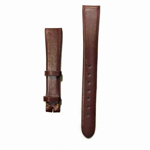Ремешок  на часы  коричневый, натуральная кожа, ширина-14мм, 08 14