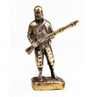 151645 Фигурка литая металлическая Пират Долговязый Боб, латунь в подарочной упаковке