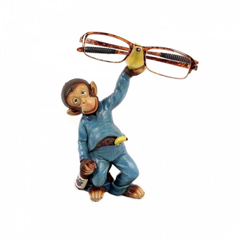 CNR65670  (1-36) Подставка под очки - обезьяна 10см