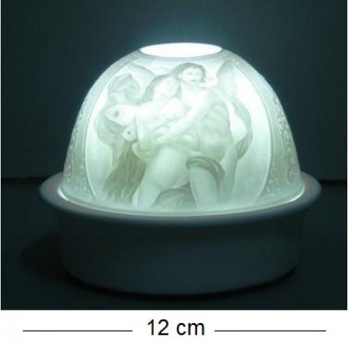 Декоративный светильник 97014W фарфор 12*10cm
