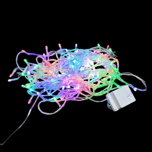 Гирлянда 160 ламп цветной свет (100)