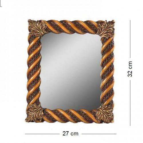 Зеркало  07001 (6) настенное и настольное 27*32см