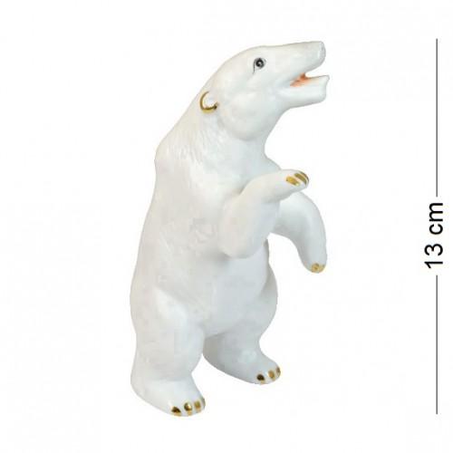 50317  (192) Фигурка Белый Медведь, фарфор, h=14см