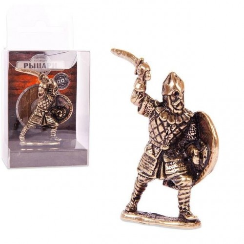 150372 Фигурка из бронзы литая Антесигнан, 1:32,  4.5cm [CRU-09]