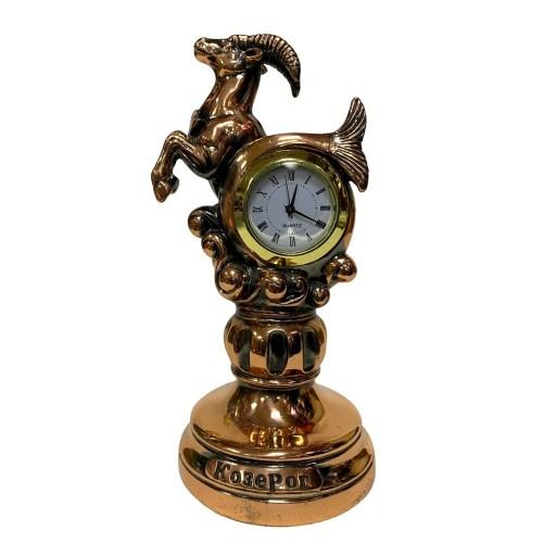 Статуэтка 1133  Часы-Знак зодиака Козерог 15 см