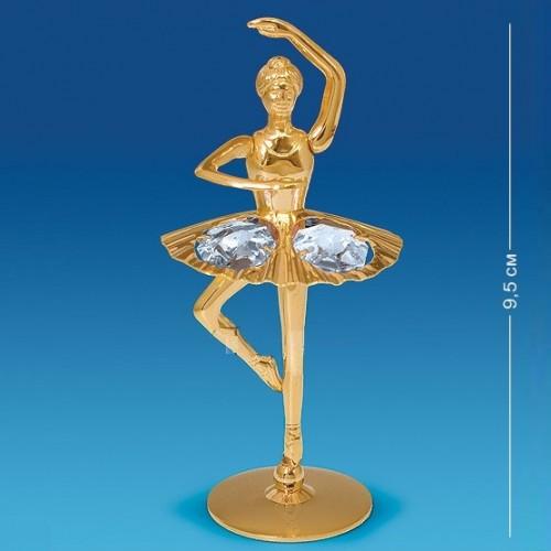 Swarovski 3754 Фигурка Балерина с поднятой рукой 4.5*4*9,5см.