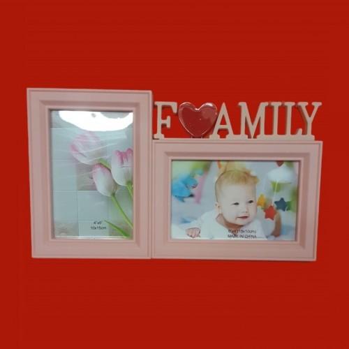 Фотоколлаж  KH-309-B  (60) 2ф. Baby роз. 31*18см