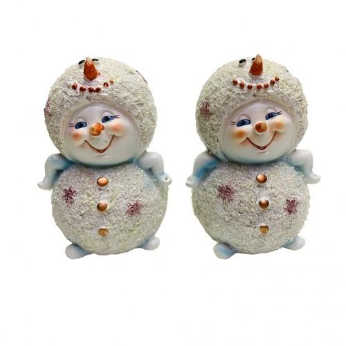 MY-15124  (24уп) Снеговик , 1 вид, 2шт/уп 8*8*12см.