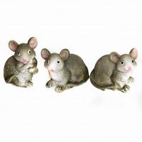 YW-00814 (90н.) Набор из 8 мышей, 3вида, 3*3*4см