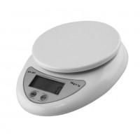 Весы электронные кухонныевесы с высокой точностью взвешивания (1-5000гр) и большой платформой 11 см.