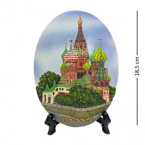 VAF-01 (36)  Панно Москва Василия Блаженного.14*19см